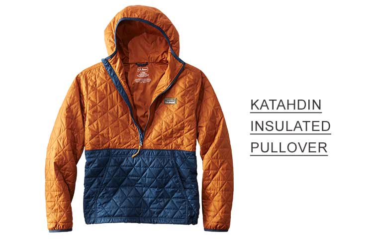 KATAHDIN INSULATED PULLOVER.