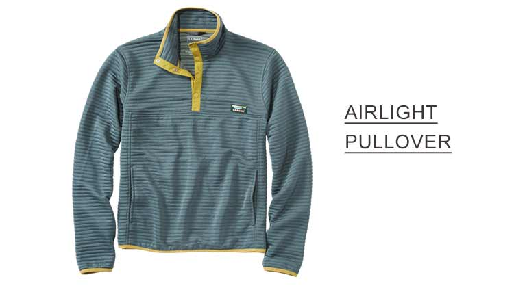 AIRLIGHT PULLOVER.