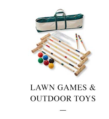 Lawn Games & Outdoor Toys.