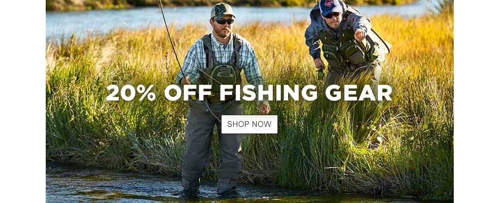 20% Off Fishing Gear
