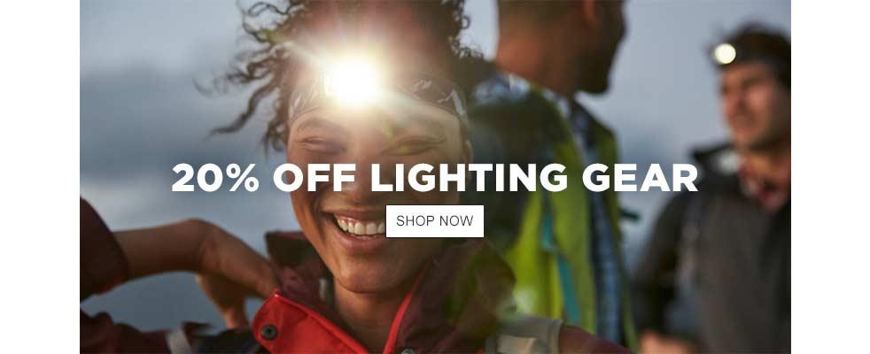 20% Off Lighting Gear