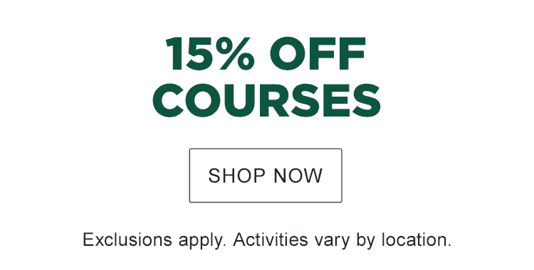 L.L.Bean Outdoor Discovery Schools. 15% Off Courses. Exclusions apply. Activities vary by location.