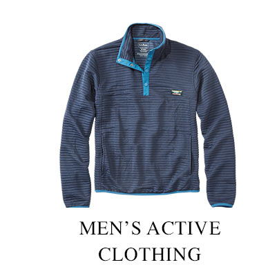 Men's Active Clothing