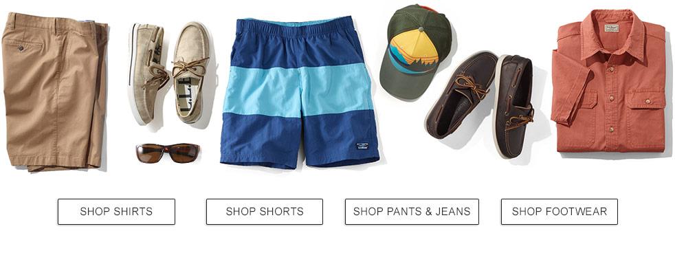 20% Off Men's Clothing & Footwear.