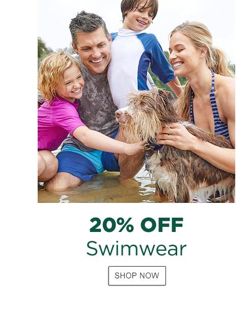 20% Off Swimwear