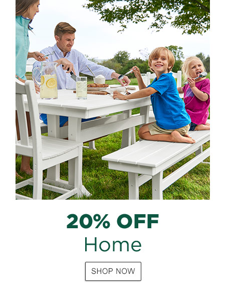 20% Off Home