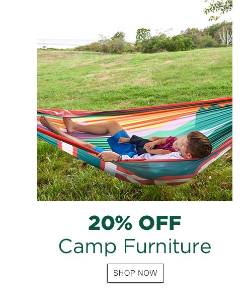 20% Off Camp Furniture