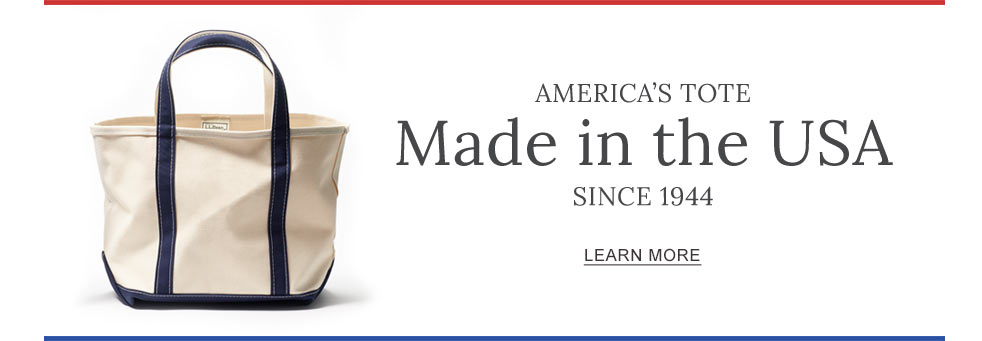 America's Tote. Made in the USA Since 1944.