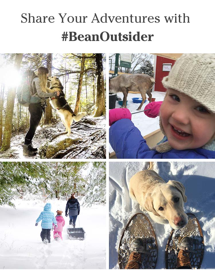 Share your adventures with #BeanOutsider