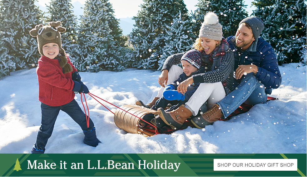 Make it an L.L.Bean Holiday