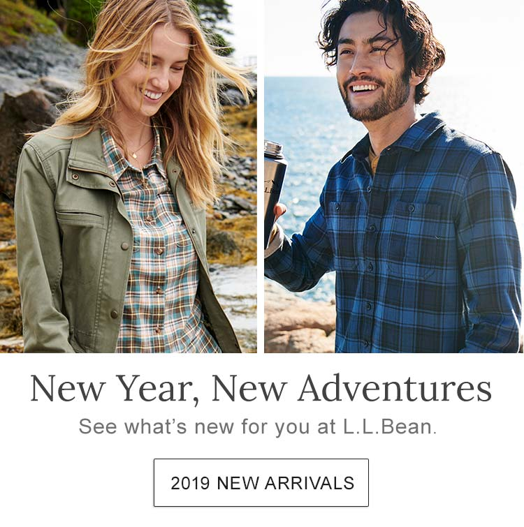 New Year, New Adventures See what's new for you at L.L.Bean.
