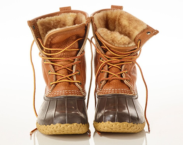 Shearling_Lined Bean Boots