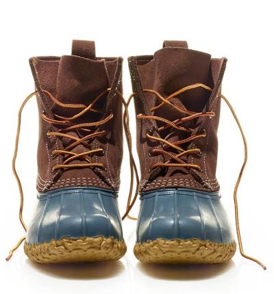 "The 8"" Suede Boot, Dark Cocoa."