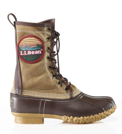 "The 10"" Waxed-Canvas Patch Boot"