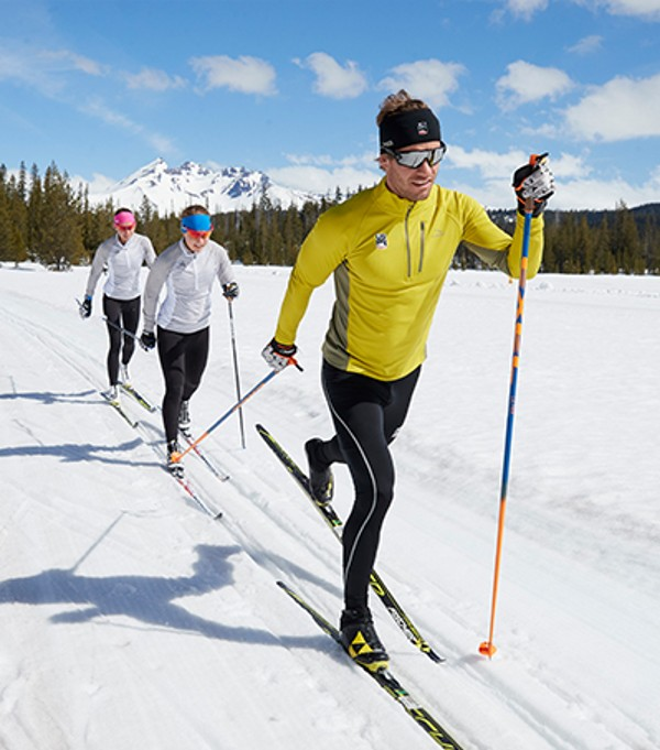 Cross Country Ski Team in New Zealand