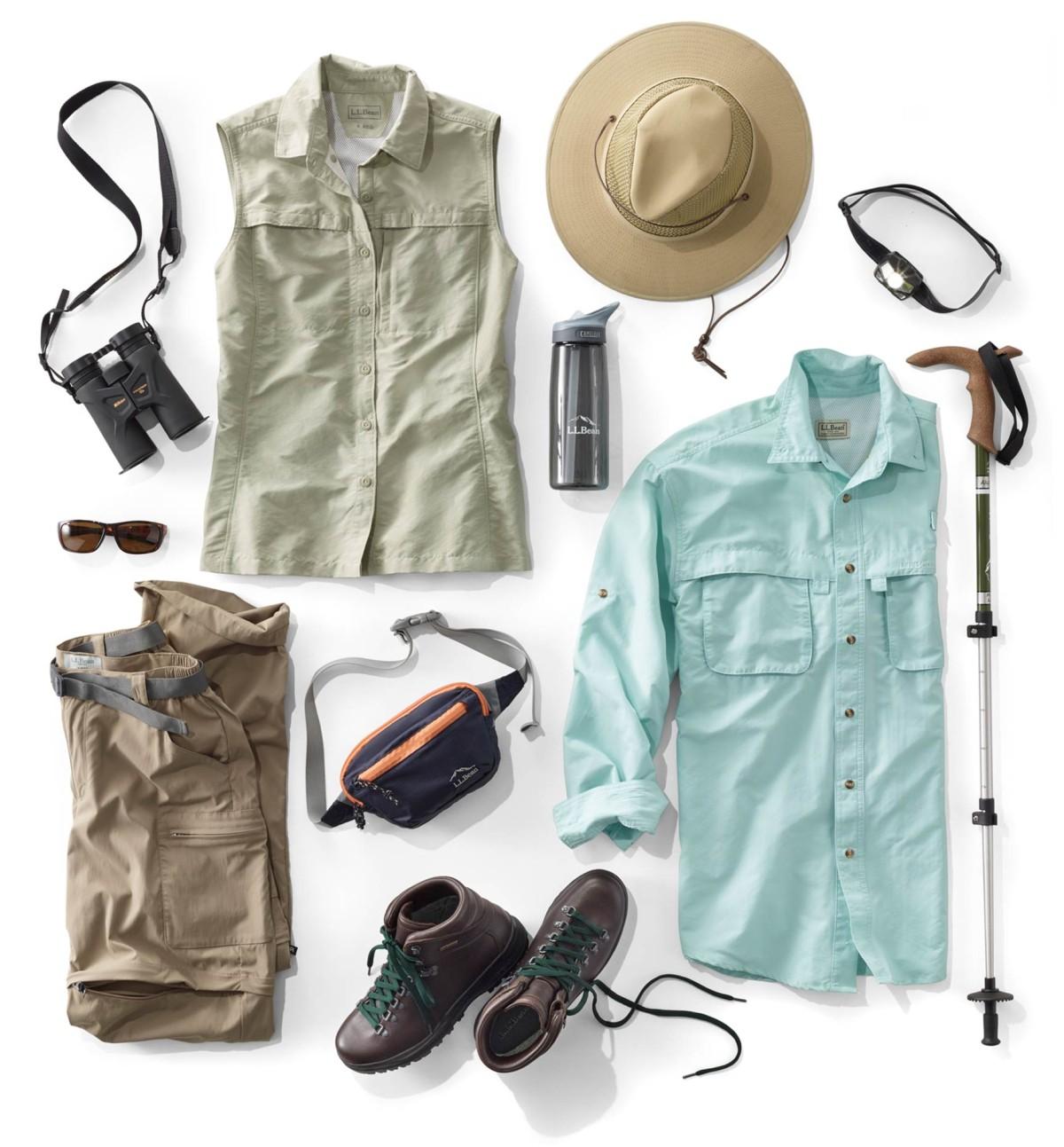 Image of assorted birding gear