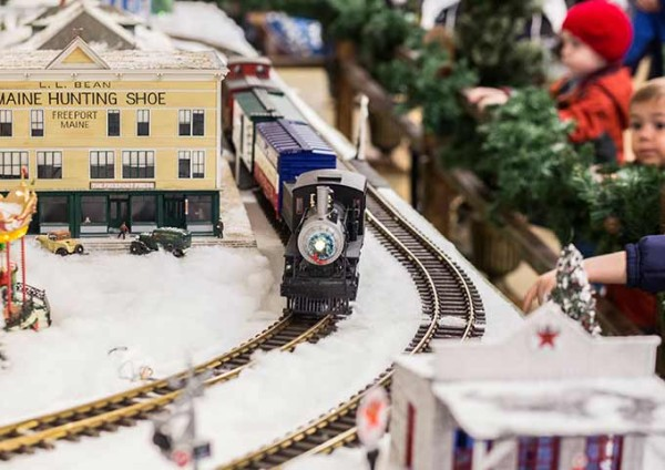 Visit our Kids' department to enjoy our famous Model Train Village, plus write and mail a letter to Santa.