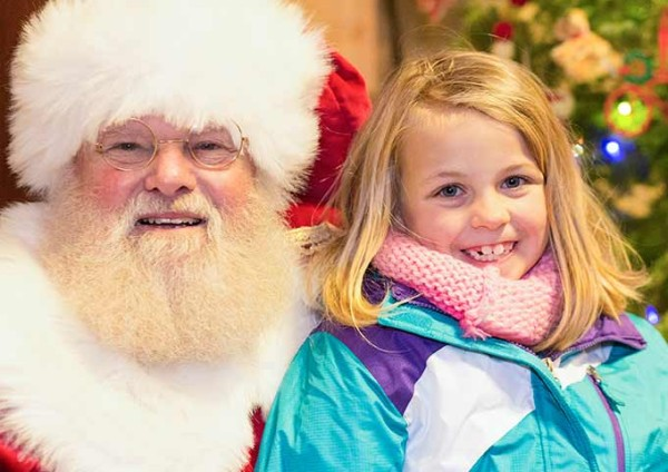 The perfect chance for kids to tell Santa what's on their wish list.