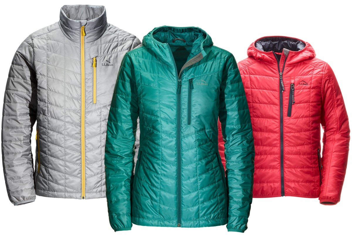 Three L.L.Bean Packaway Jackets