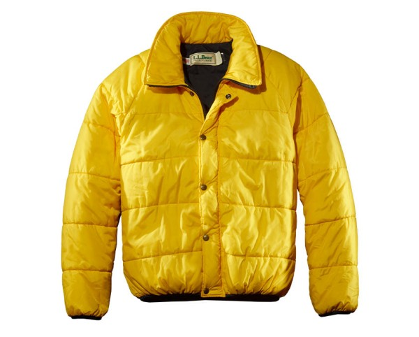 Yellow L.L.Bean Mountainlight Jacket
