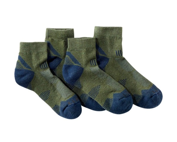 Two pairs of L.L.Bean PrimaLoft All-Sport Socks.