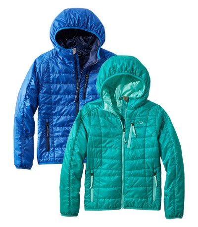 Kids' PrimaLoft Outerwear, Apparel and Footwear