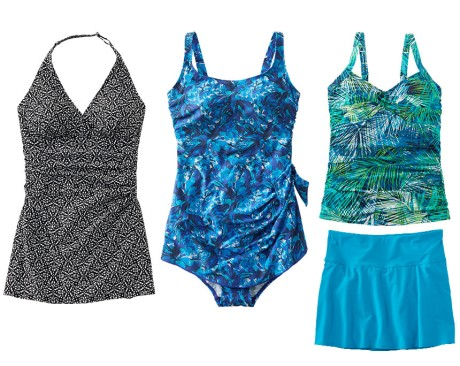 L.L.Bean Slimming Swimwear