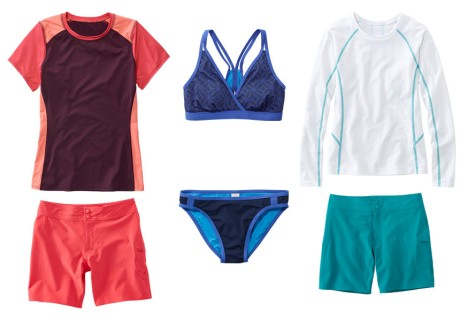 L.L.Bean Active Swimsuits