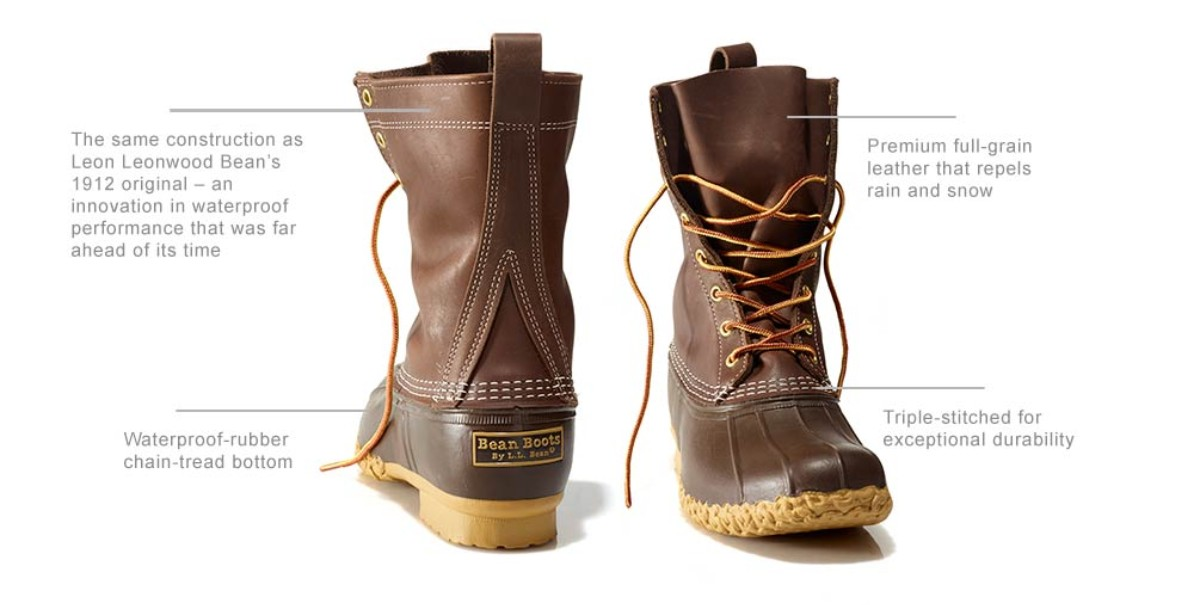 L.L.Bean Boot features