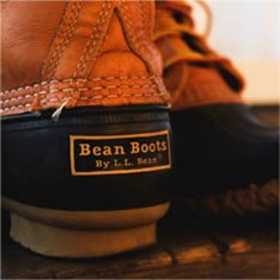 L.L.Bean Boot closeup