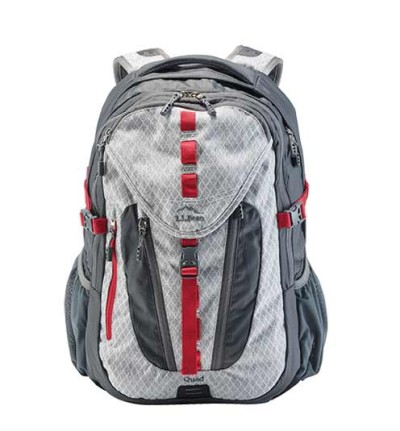 Quad Pack. Designed with key details from our hiking packs, it can go from school to summit.