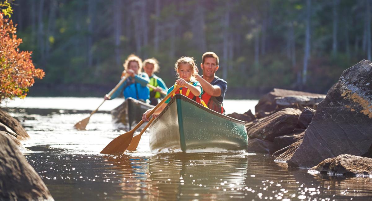 10 Amazing Family Canoe Trips