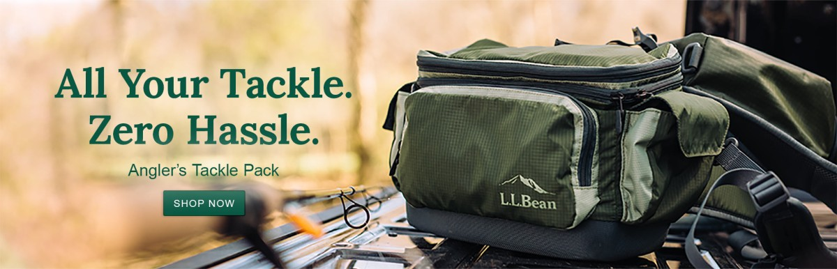 All Your Tackle. Zero Hassle. Angler's Tackle Pack