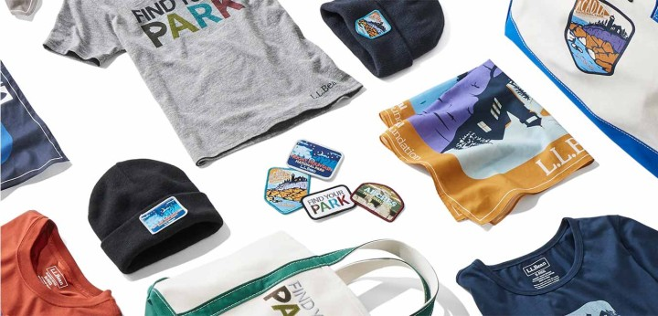 A collection of National Park Foundation items.