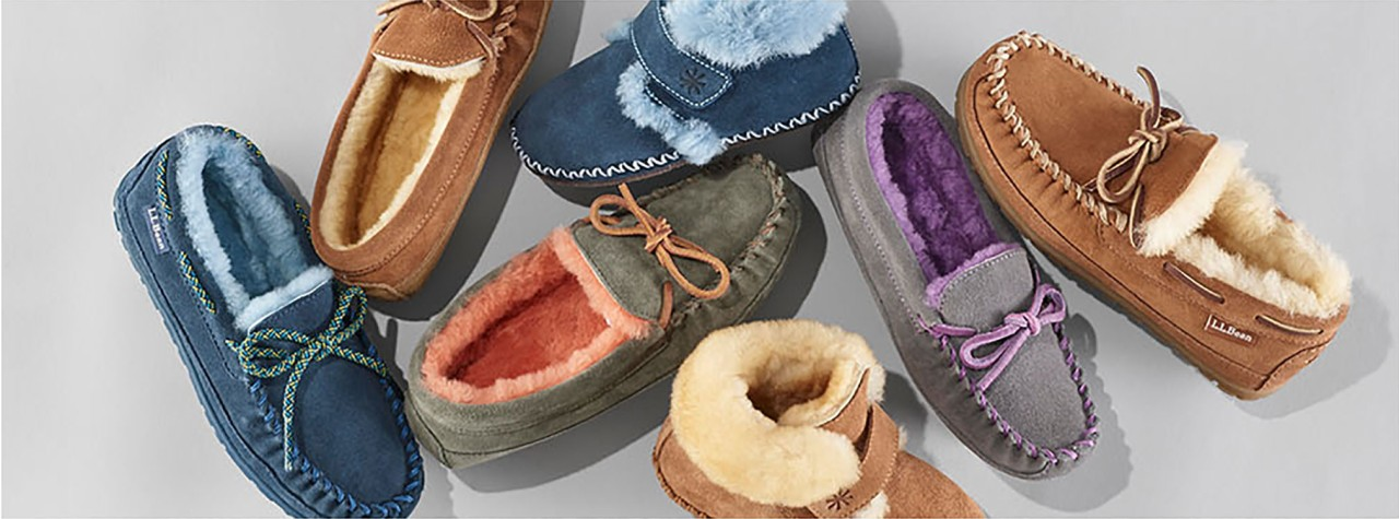 Group of L.L.Bean kids Slippers