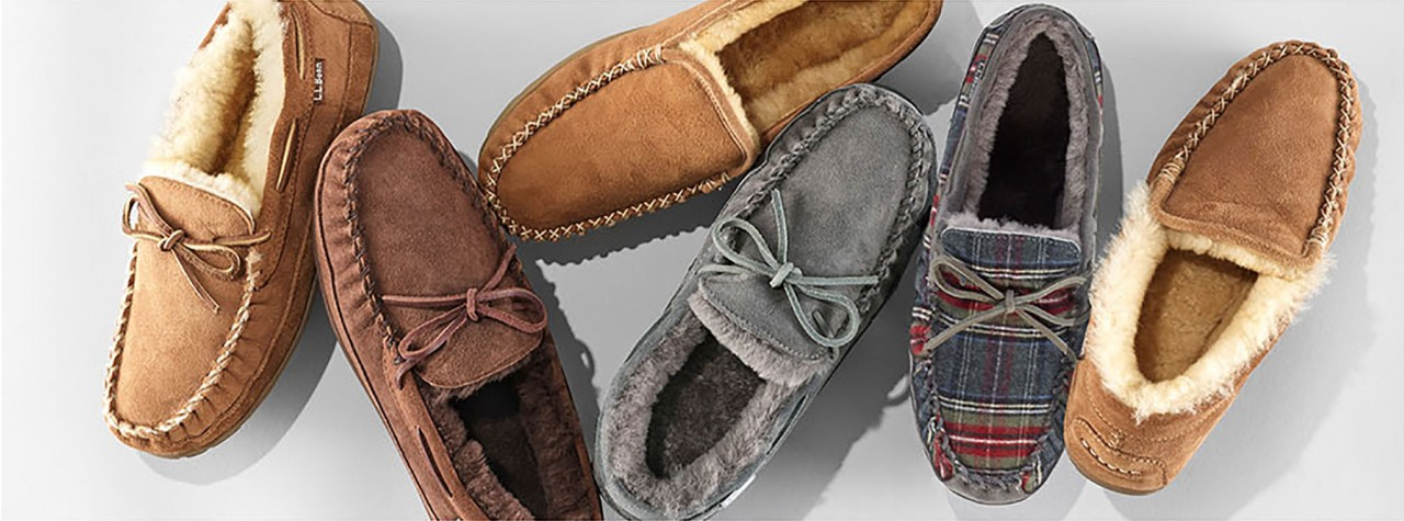Group of L.L.Bean mens Slippers
