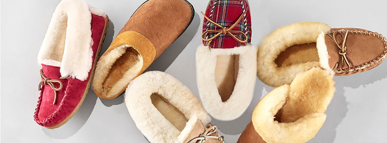 Group of L.L.Bean womens Slippers