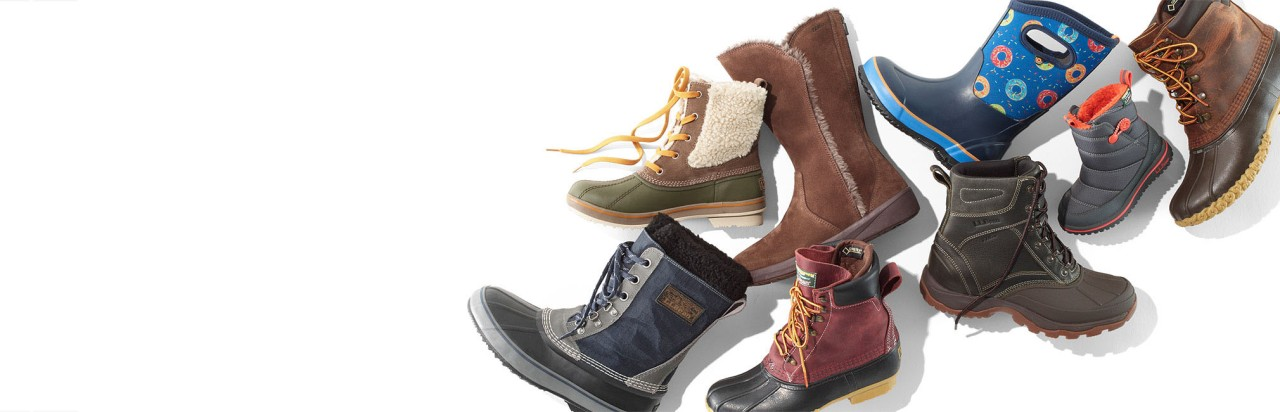 Your Source for Warm Toes SHOP WINTER BOOT GUIDE