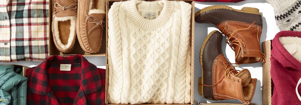 L.L.Bean sweaters