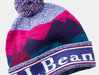 Close-up of L.L.Bean kids' hat