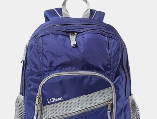 Close-up of backpack