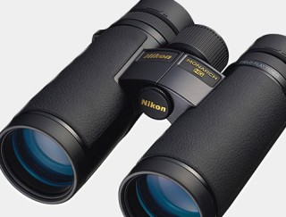 Close-up of binoculars