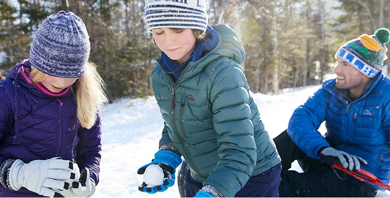 More Warmth Means More Fun We want kids to get out and play – whatever the weather. That's why we specially design and rigorously test our outerwear to be best in class (and on the slopes).