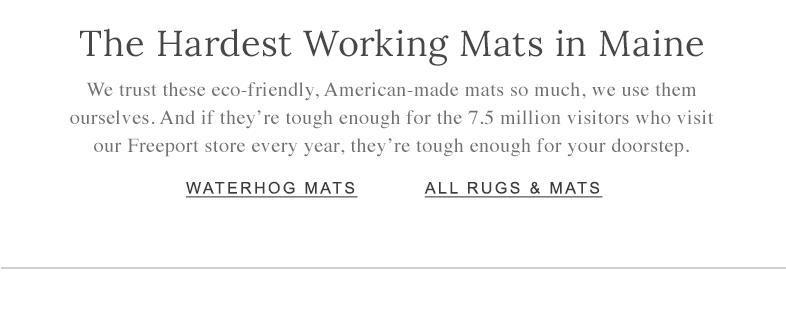 WATERHOG MATS ALL RUGS & MATS