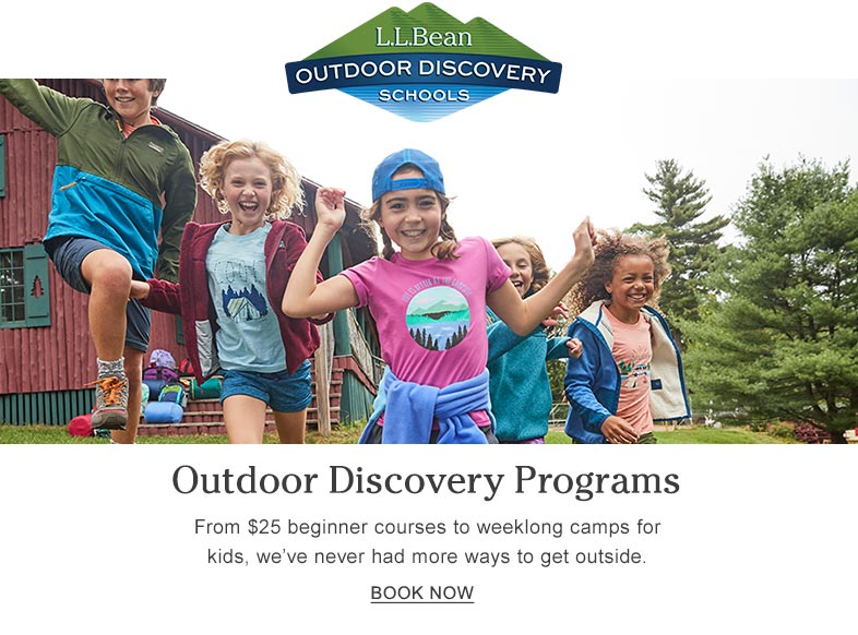 Outdoor Discovery Programs From $25 beginner courses to weeklong camps for kids, we've never had more ways to get outside.