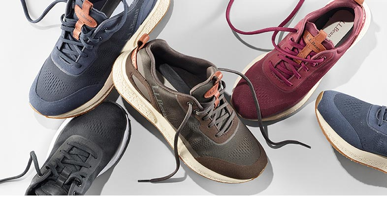 New Lightweight Stone Coast Sneakers Generously cushioned and built with lots of ventilation, these sneakers will help you feel faster, whether you're out for a short run or walking in the city with friends.