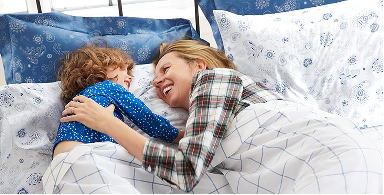 "Crisp and Comfortable Pima Bedding This premium bedding is woven from long-staple yarns for a crisp, cool feel. No wonder customers call Pima Percale ""bliss,"" ""oh so comfortable"" and ""the best sheets ever."""