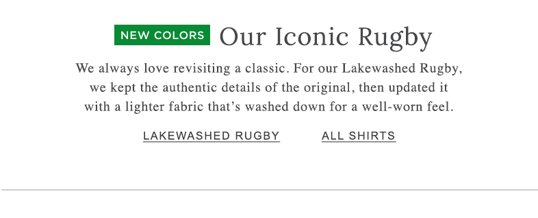 LAKEWASHED RUGBY