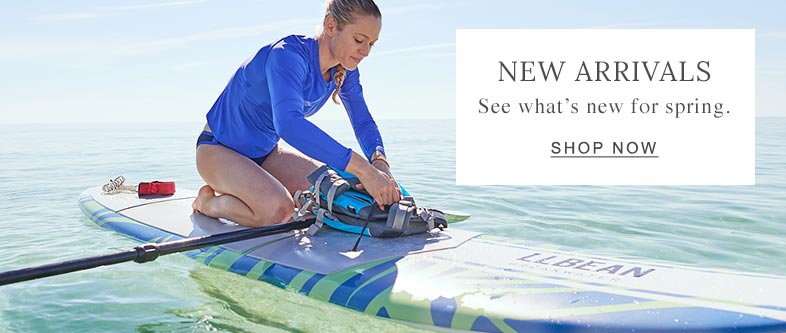NEW ARRIVALS. See what's new for spring.