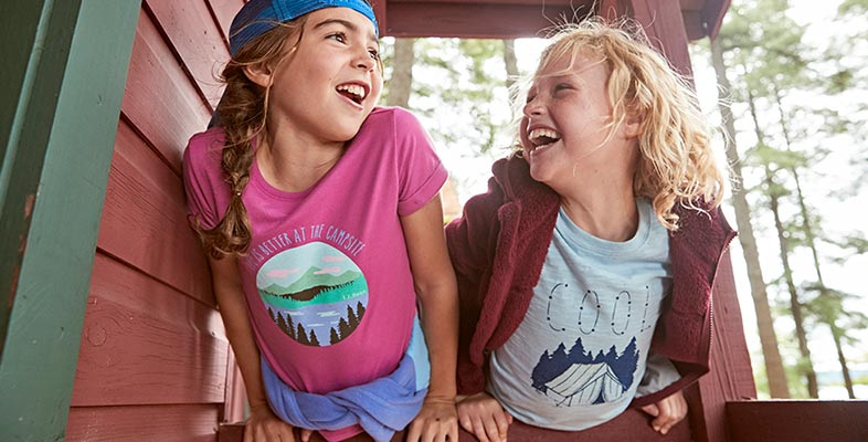 Super Soft. Super Fun. Featuring new, exclusive graphics including glow-in-the-dark and sun-activated designs, our graphic tees are the comfiest–and coolest–out there.